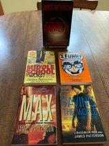 5 James Patterson books for Middle School, High School, Young Adults in Cherry Point, North Carolina