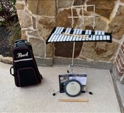 Band Drum kit with case in Kingwood, Texas