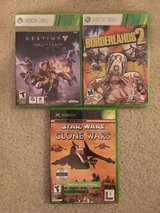 XBOX and XBOX 360 Games in Camp Lejeune, North Carolina
