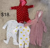 3M Baby Girl Clothes, Snuggles One Piece in Kingwood, Texas