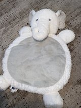 Mary Meyer Elephant Baby tummy time Mat in Grey/White in Kingwood, Texas