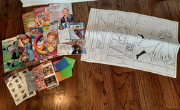 Coloring books, new stickers,  new paint book all for $5 in Morris, Illinois