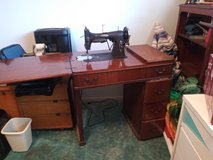Antique sewing machine White Rotary in Pearland, Texas