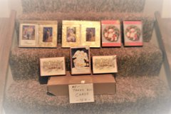 $5 TAKES ALL XMAS CARDS IN PHOTOS - NEW IN BOX - OVER 100 in Naperville, Illinois