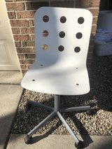 Contemporary wood desk chair in St. Charles, Illinois