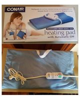 Heating Pad, Heating Pad - Conair Comfort Moist/Dry for Pain Relief, KING Size (11.5-inches x 20... in Naperville, Illinois