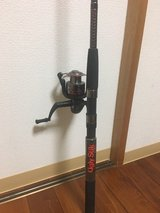 Agly stick gx2 with Shakespeare reel in Okinawa, Japan
