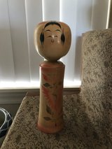 Vintage Japanese Kokeshi Doll in Honolulu, Hawaii