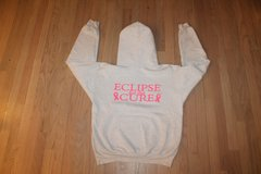 Eclipse  Select Soccer Heather Gray Breast Cancer Support Hoodie, Medium in Naperville, Illinois