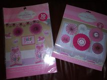 Girl baby shower decorations in Spring, Texas