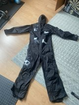 Snow suit in Ramstein, Germany