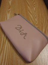 New Pink Dior Cosmetic Make Up Pouch Bag in Lakenheath, UK