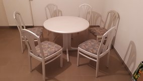 Dining Room Set with 6 chairs. Round or Oval in Grafenwoehr, GE