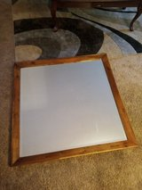 Wooden brown contemporary mirror in Fort Campbell, Kentucky