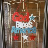 4th of July Door Hanging in Naperville, Illinois