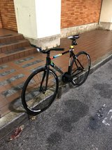 unknown combat fixed gear bike in Okinawa, Japan