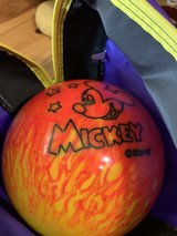 *undrilled* 8 lb Mickey bowling ball tweety bag in Alamogordo, New Mexico