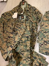 USMC Cammies and Covers in Okinawa, Japan