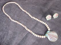 Spring Pastel Necklace + Earrings Set in Naperville, Illinois