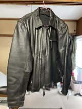 Motorcycle Leather Jacket in Okinawa, Japan