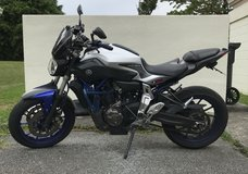2016 Yamaha MT-07 in Okinawa, Japan