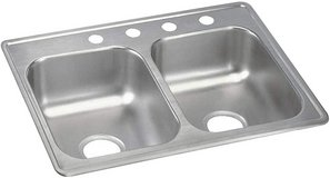 """Elkay 25"""" Double Bowl Stainless Steel Sink - New! in Naperville, Illinois"""