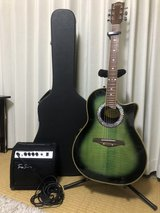 Acoustic-Electric Guitar Stafford. in Okinawa, Japan