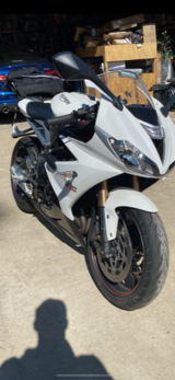 2016 Triumph Daytona 675 in Camp Pendleton, California