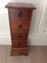 Solid Slim wooden drawers/ end table / telephone table / project furniture in Lakenheath, UK