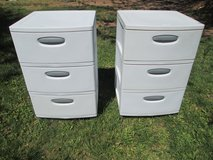 White Cabinet Durable Storage Containers in Alamogordo, New Mexico