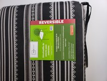 Reversible Outdoor Chair Cushion - New with tags in Kingwood, Texas