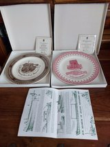 pair of wedgewood plates in Lakenheath, UK