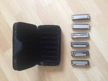 Hohner Blues Band Harmonica Set - D E F G A Bb in Ramstein, Germany