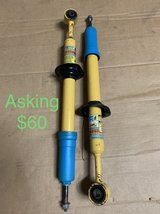 05-15 Tacoma used pair of Bilstein front struts in Baytown, Texas