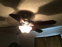 52in ceiling fan (light works but need reworked) in Alamogordo, New Mexico