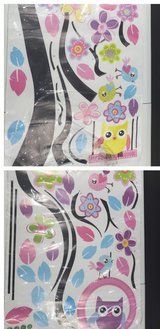 Owl decoration wall stickers in Fort Campbell, Kentucky