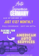 Auto Insurance Germany - American Drivers in Spangdahlem, Germany