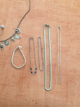 real silver bracelets ankle chains necklaces in Ramstein, Germany