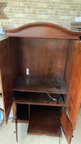 Free Wooden Armoire No Defects in Okinawa, Japan