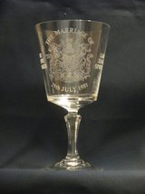 1981 Lady Diana Wedding Goblet in Naperville, Illinois