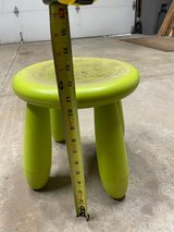 Kite, kids stool,, kids tackle box and ice fishing pole, in Naperville, Illinois