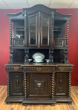 Buffet - Henri II Style Louis XIII from 1880 in Spangdahlem, Germany