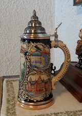 "Original German Beer Stein ""Wiesbaden"" in Ramstein, Germany"