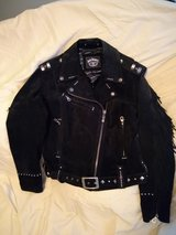Jack Daniels Leather coat (Large) in Fort Campbell, Kentucky