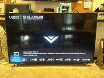 """VIZIO 55"""" 4K Ultra HD I don't think it is even 2 years old. in Okinawa, Japan"""