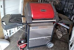 Gas Grill with New Grill plate in Ramstein, Germany