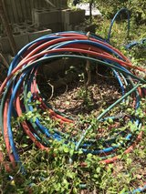 pex water line in Fort Campbell, Kentucky