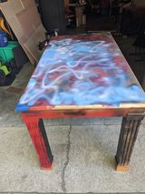 Table in Fort Campbell, Kentucky