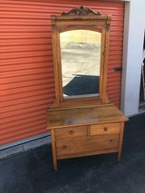 Golden Oak Vanity/ Wash Stand in Cherry Point, North Carolina