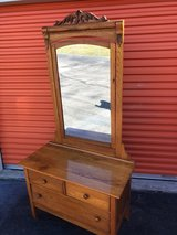 Antique Golden Oak Vanity/ Wash Stand in Cherry Point, North Carolina